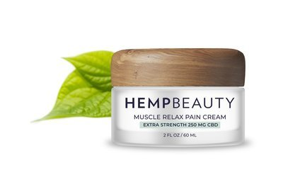 CBD Muscle relax pain cream