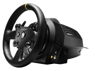 TX Racing Wheel Leather Edition Xbox One PC (leather wheel and 3 pedals)