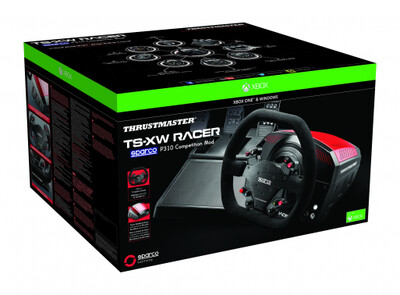 TS-XW RACER Xbox One PC with 3 pedals and Sparco add on