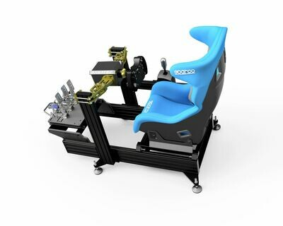 P1-X sim racing chassis (Seat not included) BLACK