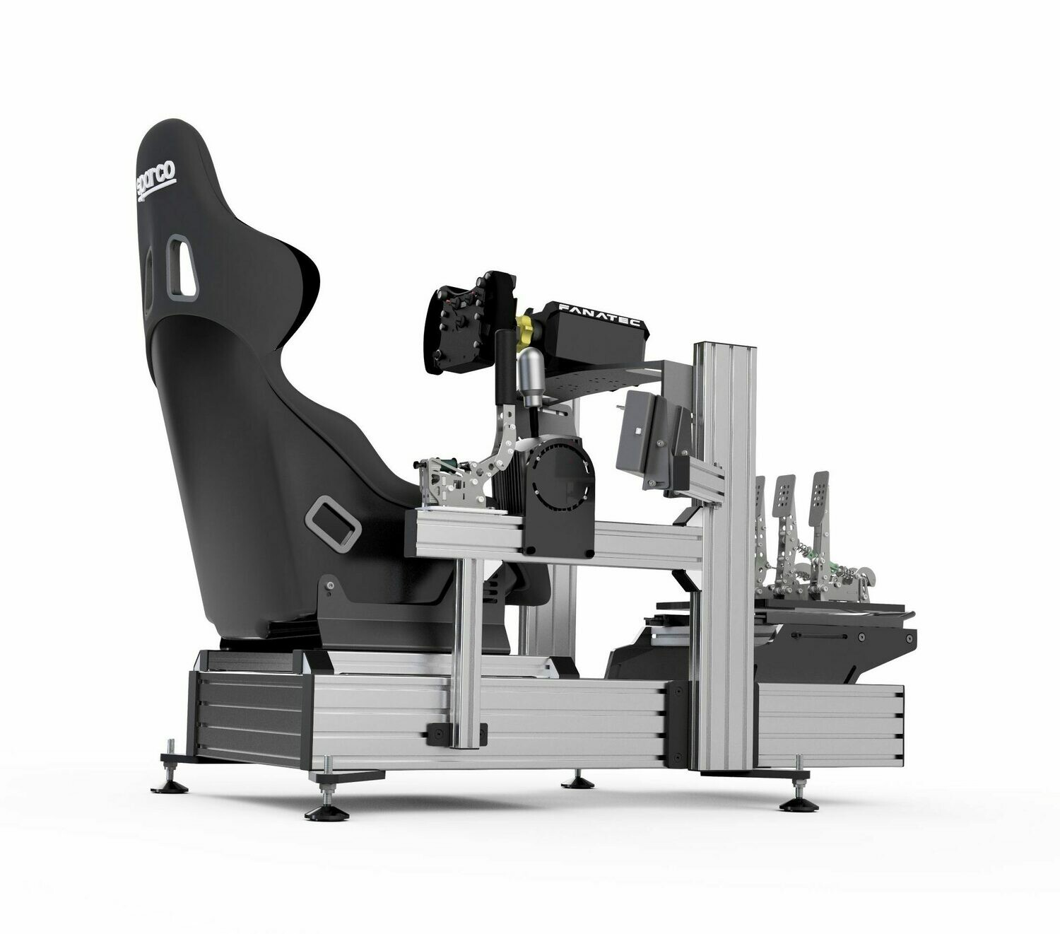 P1-X sim racing chassis (Seat not included) GREY (10-15 DAYS LEAD TIME)