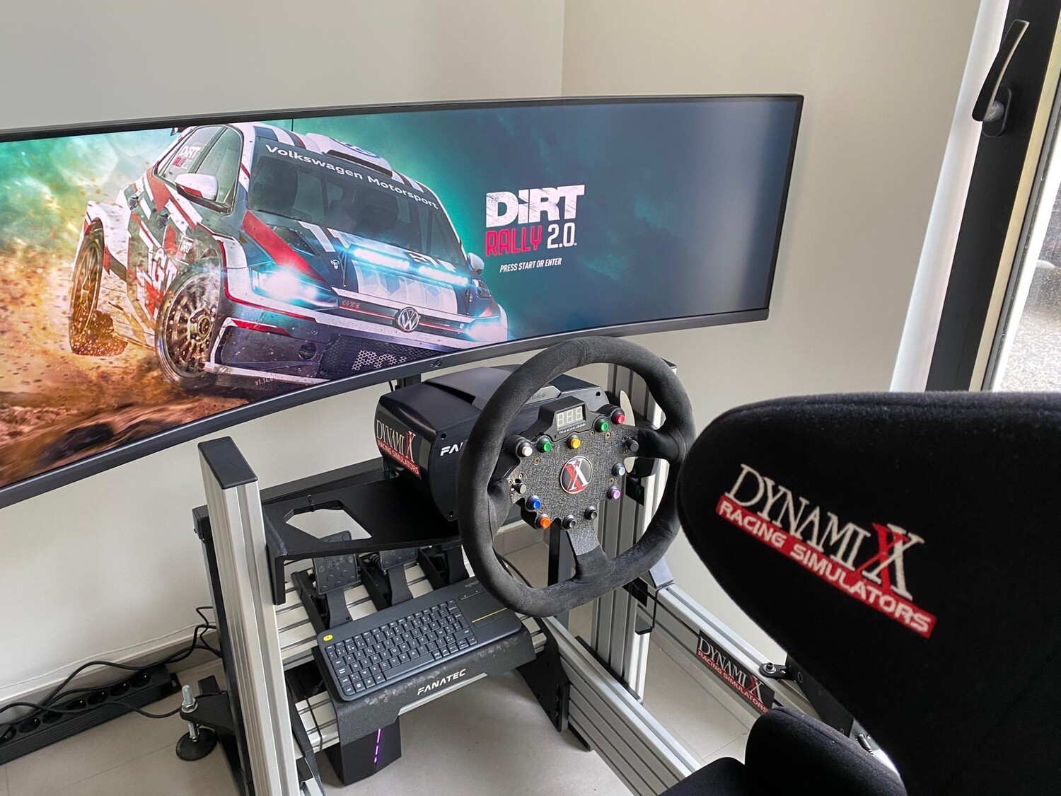 DXX 8020 SIMULATOR BRC RALLY PACKAGE
