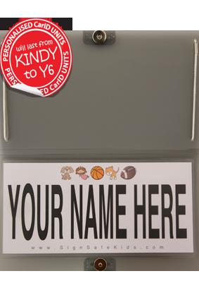 Car-ID - Single Kit  (+P&H)