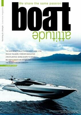 BOAT ATTITUDE N°37 - NOVEMBER 2020 - PRINT EDITION