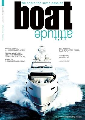 BOAT ATTITUDE N°40 - APRIL 2021 - PRINT EDITION