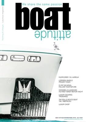 BOAT ATTITUDE N°42 - JULY 2021 - PRINT EDITION