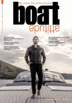 BOAT ATTITUDE N°43 - SPECIAL CANNES YACHTING FESTIVAL 21  - PRINT EDITION