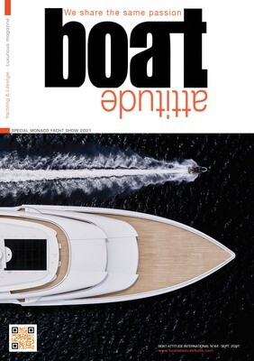 BOAT ATTITUDE N°44 - SPECIAL MONACO YACHT SHOW 2021  - PRINT EDITION