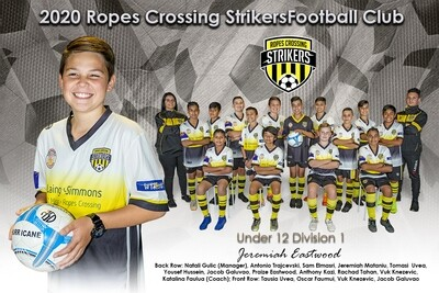 Team + Individual Photo 12x8 Inches (305mm x 203mm)