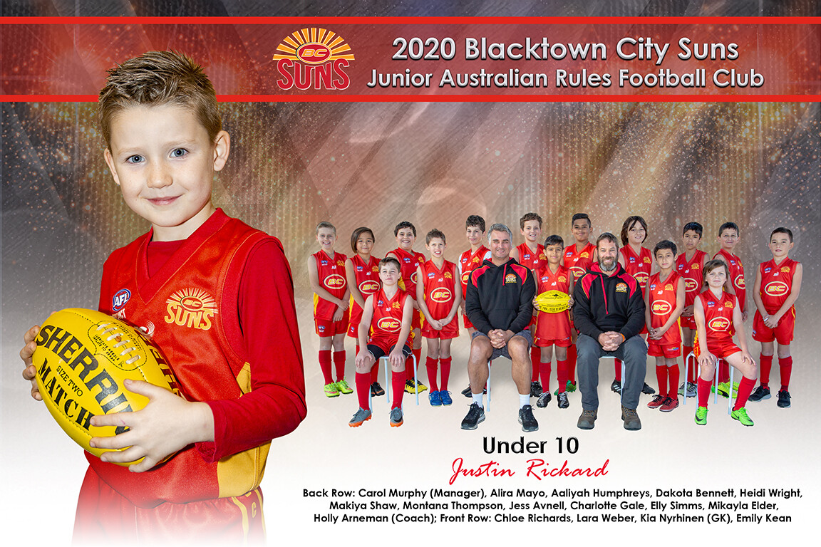 Team + Individual Photo 12x18 Inches (305mm x 457mm)