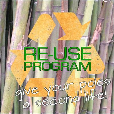Re-plant your poles!