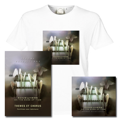PACK Somewhere : Partitions + CD + T-Shirt