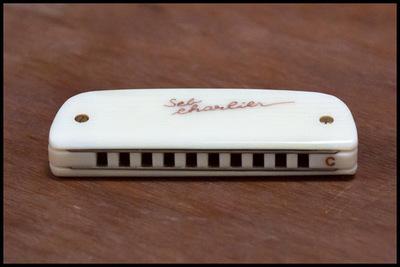 Harmonica Brodur-SebCharlier : Golden Type Noix de Tagua
