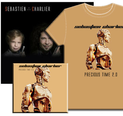 Giga Pack : Precious Time épisodes 1 et 2 en CD + T-Shirt + Vinyle offert