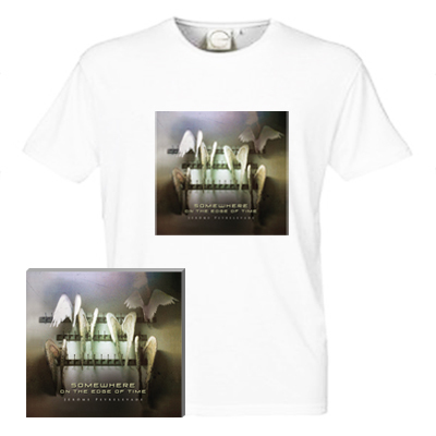 PACK CD + T-Shirt Somewhere on the Edge of Time