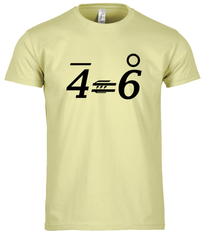 T-Shirt OPTIM 4'=6°
