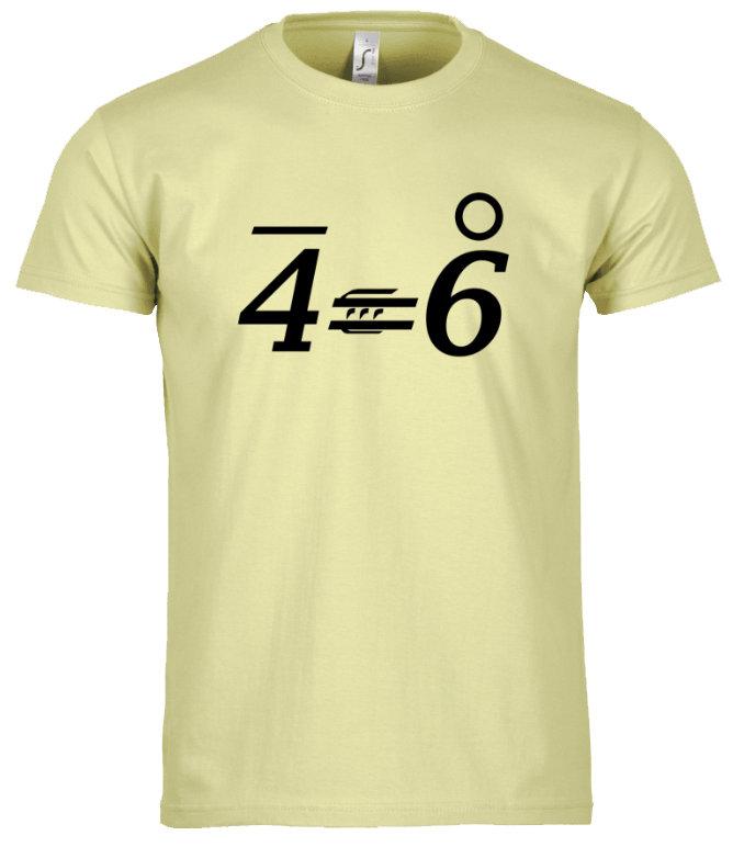 T-Shirt OPTIM 4'=6°