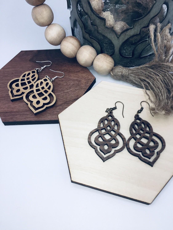 Damascus  Earrings