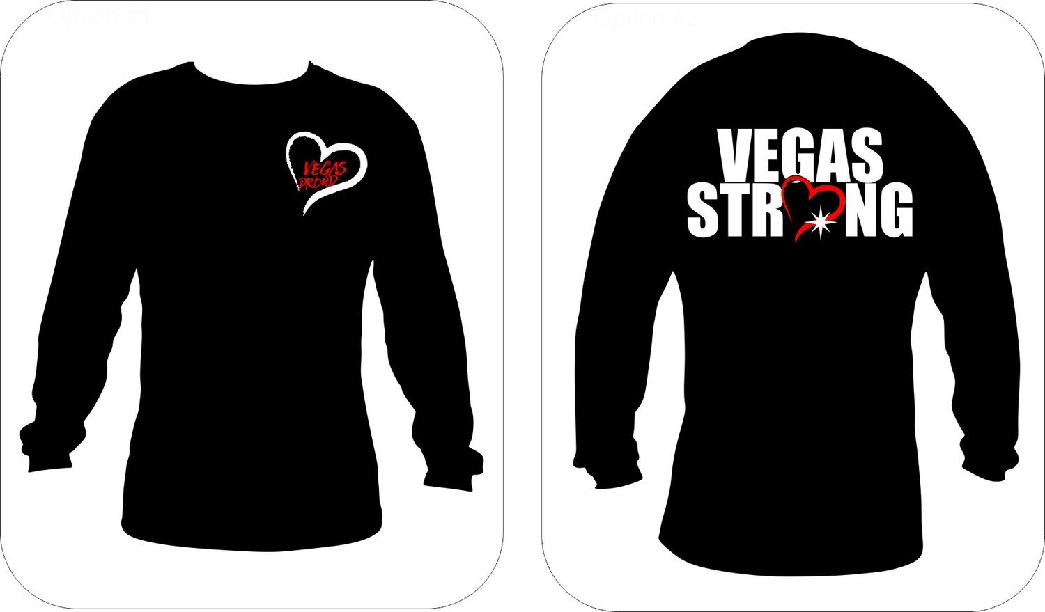 'Vegas Proud - Vegas Strong Long Sleeve'