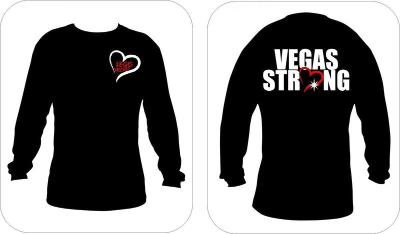 'Vegas Proud - Vegas Strong Long Sleeve'