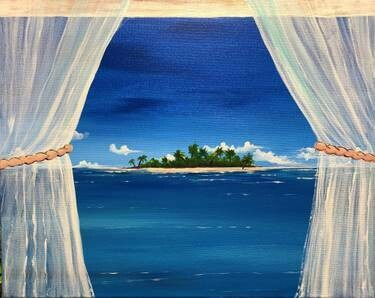 SOLD OUT! Relaxed Paint & Sip (Edison Studio)