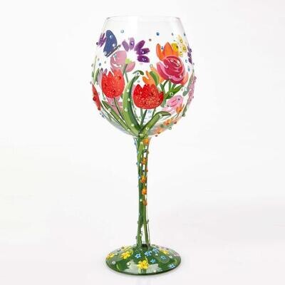 SOLD OUT! Relaxed Paint & Sip - PAINT 2 LARGE WINE GLASSES (Edison Studio)