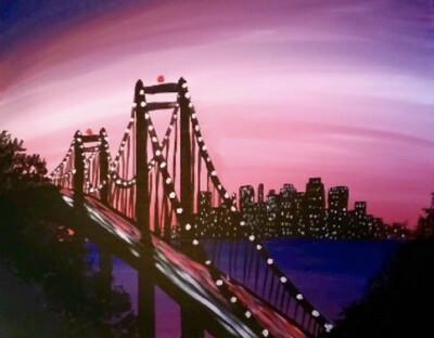 SOLD OUT! Karaoke, Paint & Sip - (Edison, NJ Lounge)