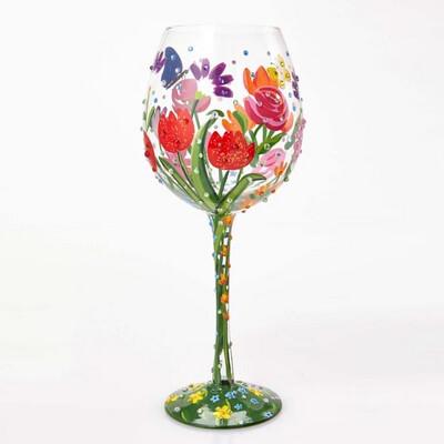 20+ LEFT! Relaxed, Paint & Sip - PAINT ON 2 LARGE WINE GLASSES (Edison, NJ Lounge)