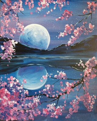 SOLD OUT! Relaxed, Paint & Sip - (Edison, NJ Lounge)