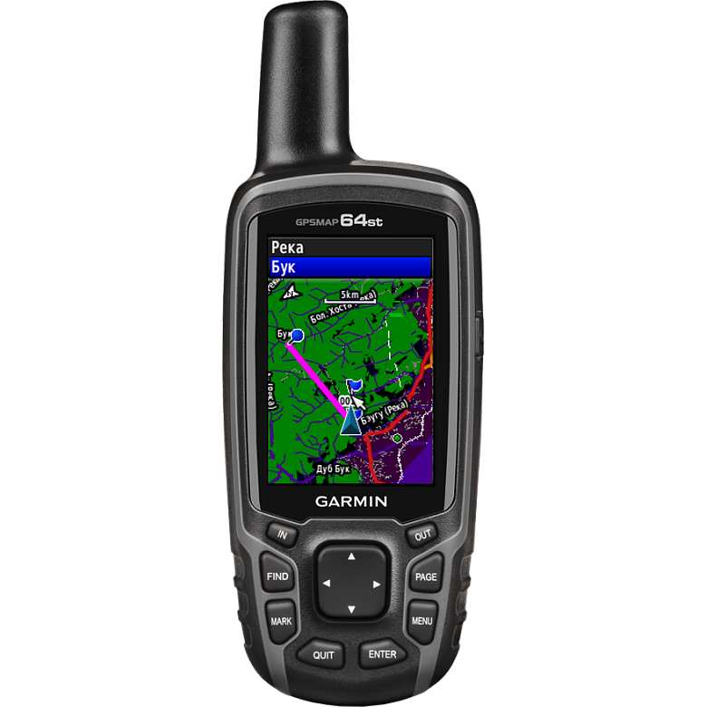 GPSMAP® 64 rus\64st