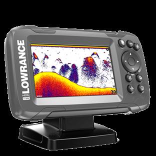 HOOK2-4x с датчиком Bullet Skimmer,   цветной экран 4,3-дюйма