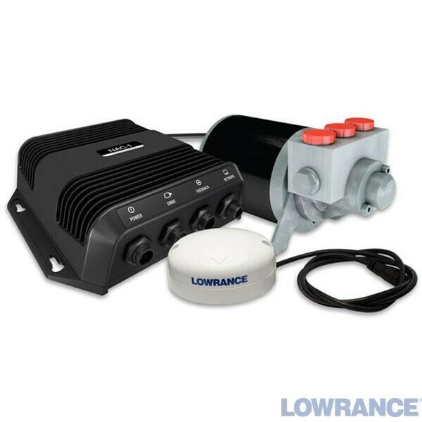LOWRANCE OUTBOARD PILOT HYDRAULIC PACK, Комплект автопилота для систем LOWRANCE HDS