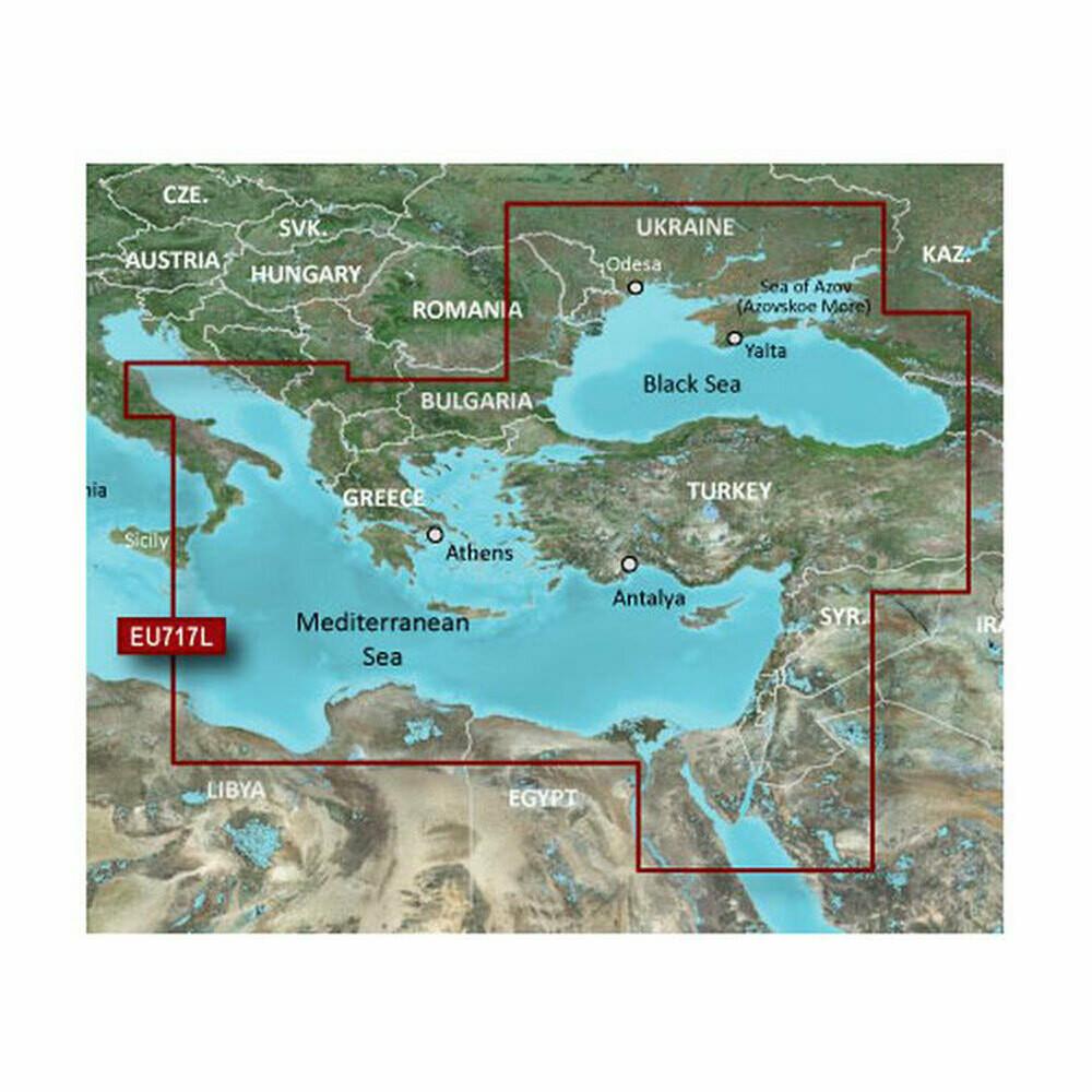 VEU717L   East Mediterranean & Black Sea