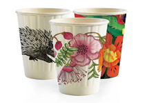 BioPack 8oz double wall hot cup sleeve of 50