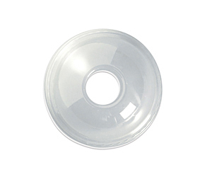 BioPack Dome lid to suit 500ml clear cold cup x 100