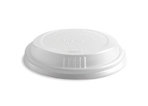 BioPack bio lid for 8 oz cup x 50