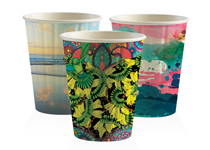 BioPack 12 oz double wall hot cup sleeve of 40