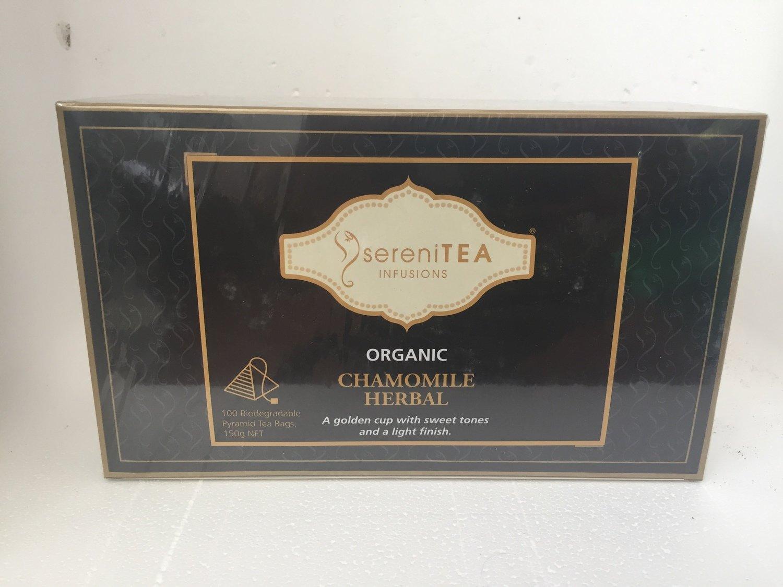 SereniTEA Chamomile Tea 100 x pyramid tea bags