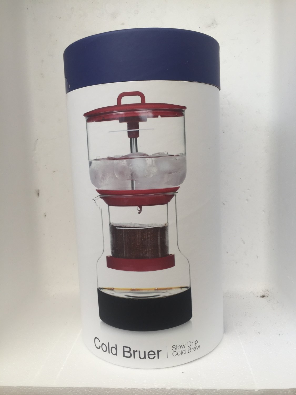 Bruer Cold Drip System red