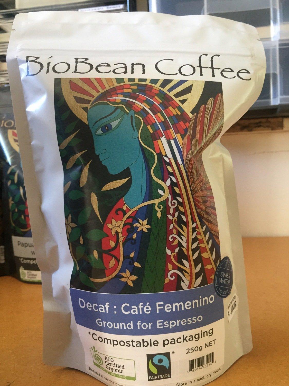 Café Femenino Peru 250g  DECAF