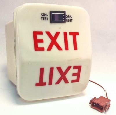 101-364798-639  Emergency Exit Sign