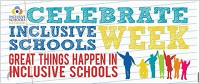 6 Ft. Vinyl Inclusive Schools Week Banner