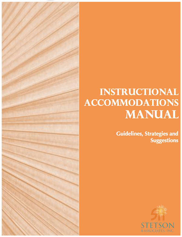Instructional Accommodations Manual (Digital)