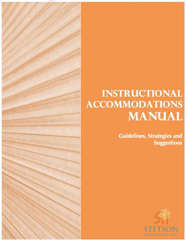 Instructional Accommodations Manual (Digital)