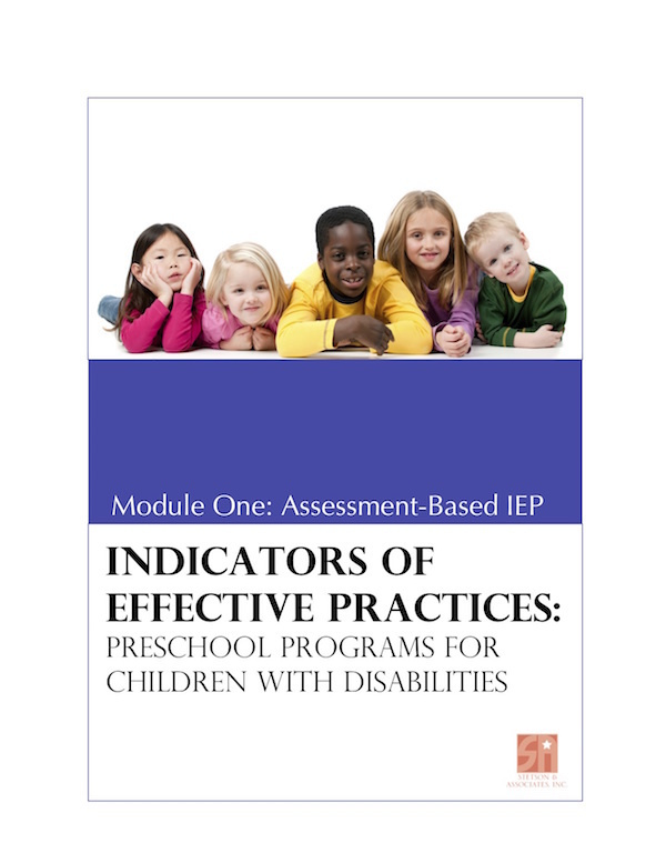 Preschool Programs for Children with Disabilities: Module 1 Assessment-Based IEP