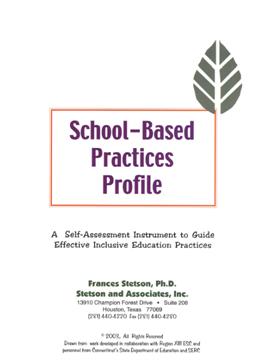 School-Based Practices Profile