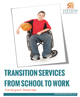 Transition Services from School to Work: Understanding the Transition Planning Process