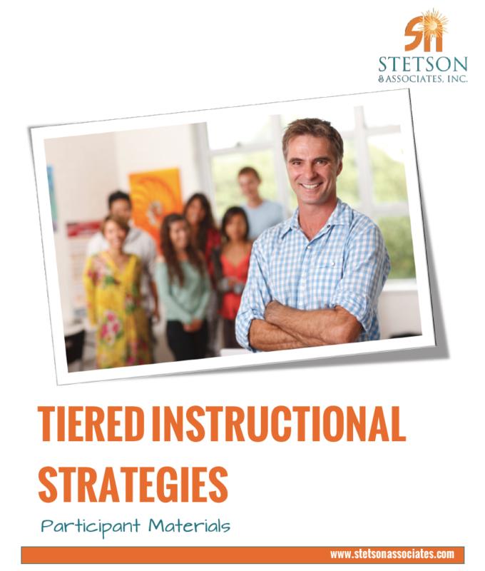 Tiered Instruction Strategies Training Module