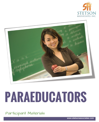 Paraeducator Training Module