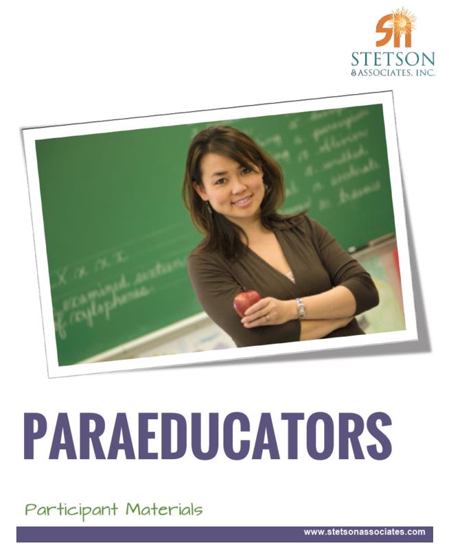 Paraeducator Training Module
